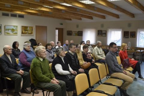 LASS Kazlų rūdos filialo neregių susirinkimas
