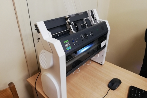 Brailio spausdintuvas
