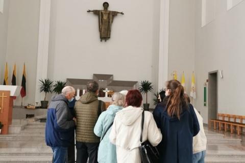 Ekskursija Kauno Kristaus Prisikėlimo bazilikoje