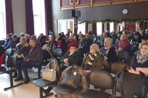 Žiūrovai salėje