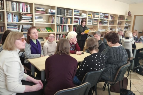 Viktoriną parengė ir pristatė LAB Kauno padalinio vyriausia bibliotekininkė Irena Blaževičienė
