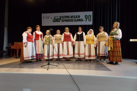LASS Kėdainių filialo folkloro ansamblis Temela